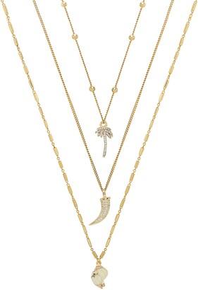 Ettika Set of 3 Tropical Necklaces