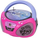 My Little Pony CD Boom Box