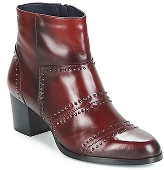 Dorking ZUMA women's Low Ankle Boots in Red