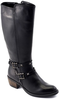 David Tate Knee-High Leather Boots - Novita