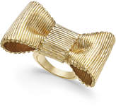 Kate Spade Gold-Tone Bow Statement Ring