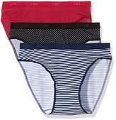 Dim Women's Pockets Coton Slip x3 Brief,12/14