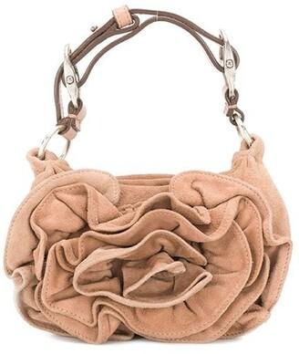 Yves Saint Laurent Pre-Owned Mini Draped Tote Bag