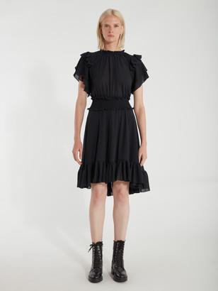 The Ruffle Smock Mini Dress