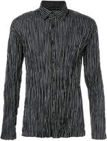Issey Miyake striped shirt