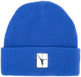 Alexander Wang ribbed beanie hat - men - Cotton - One Size