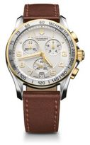 Victorinox Chronograph Stainless Steel Watch