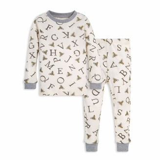 Burt's Bees Baby Baby Toddler a-Bee-C Tee and Pant Set