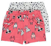 George 2 Pack Assorted Jersey Shorts