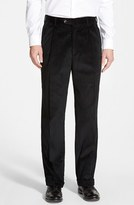 Men's Berle Pleated Corduroy Trousers