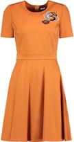 Just Cavalli Appliquéd stretch-jersey mini dress