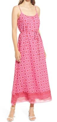 Tile Sleeveless Maxi Dress