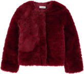 Jean Bourget Short faux fur coat