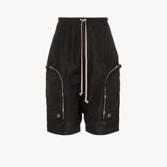 Rick Owens Tecuatl zipped cargo pocket Bermuda shorts