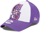 New Era Girls' Seattle Mariners Over Glittered 9FORTY Cap
