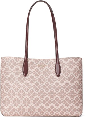 Kate Spade All Day Spade Flower Coated Canvas Tote