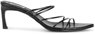 Reike Nen 5 Strings 70 black leather sandals