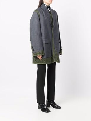 Junya Watanabe Layered-Design Coat