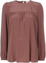 Semi-Couture Semicouture smock blouse