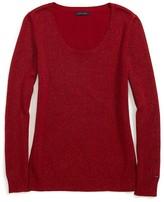 Tommy Hilfiger Scoop Neck Lurex Sweater