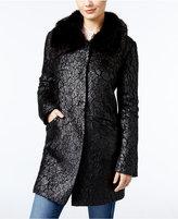 GUESS Lindsey Faux-Fur-Trim Jacket