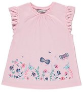 George Embroidered Butterfly T-Shirt