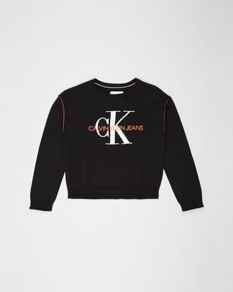 Calvin Klein Jeans Monogram Sweater - Teens