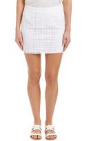 BB Dakota Eyelet Mini Skirt