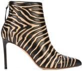 Francesco Russo zebra print boots