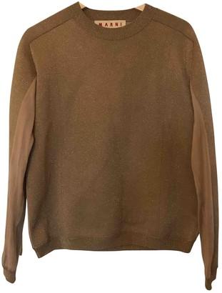 Marni Gold Viscose Knitwear