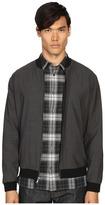 Vince Worsted Wool Reversible Bomber Jacket Men's Coat