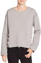 Moschino Pearl Button Sweatshirt