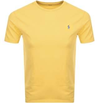 Ralph Lauren Crew Neck T Shirt Yellow