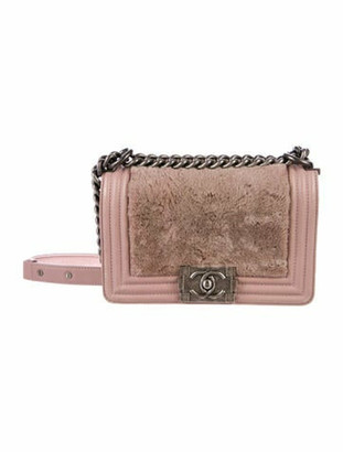 Chanel Small Boy Bag Mauve