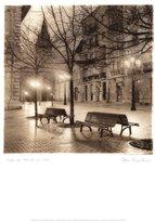 Art.com Plaza de Porlier, Oviedo Art Poster Print by Alan Blaustein, 16x20