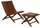 Doerun Lounge Chair and Ottoman Foundry Select