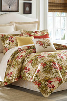 Tommy Bahama Daintree Tropic Queen Comforter - Coral