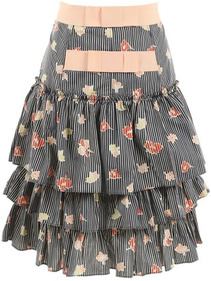 Marc Jacobs Navy Cotton Skirts