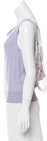 Nina Ricci Cashmere & Silk Top w/ Tags