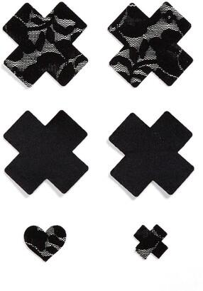 Bristols 6 Nippies by Bristols Six Cross Nipple Covers