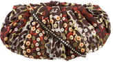 Diane von Furstenberg Embroidered Button-Embellished Crossbody