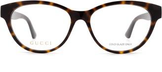 Gucci Gg0766oa Havana Glasses