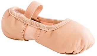 Dance Class Dance Class, Girls Split-Sole Leather and Spandex Ballet (Toddler Girls)