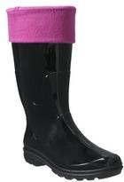 Womens Fleece Rain Boot Liners - Pink