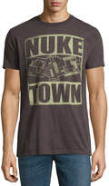 Novelty T-Shirts COD Nuke Town Short-Sleeve Graphic T-Shirt