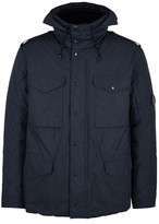 C.p. Company Navy Water-resistant Shell Jacket