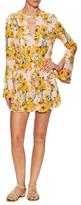 Free People Tegan Print Mini Dress