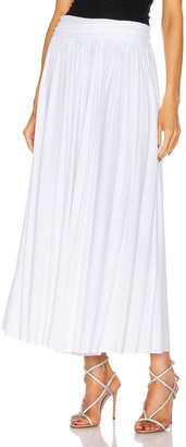 Alexandre Vauthier Terry Flowy Pant in White | FWRD