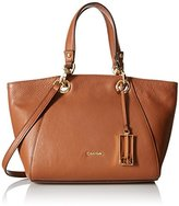 Calvin Klein Fashion Pebble Satchel Bag