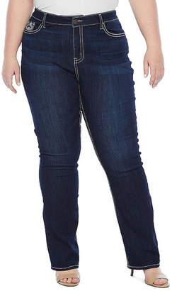 A.N.A Bling Cross Bootcut Jean - Plus
